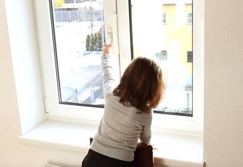 Die Kindersicherung f/ür Fenster ohne Bohren!