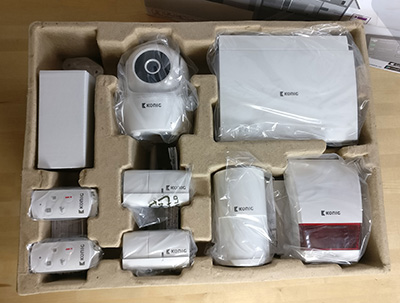 König Smart Home Security Set